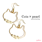 Cats×Pearlピアス