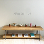 2tray shelf 120