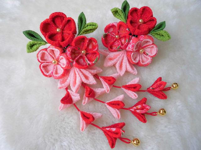 初音~hatune~(紅)子供用和装飾り