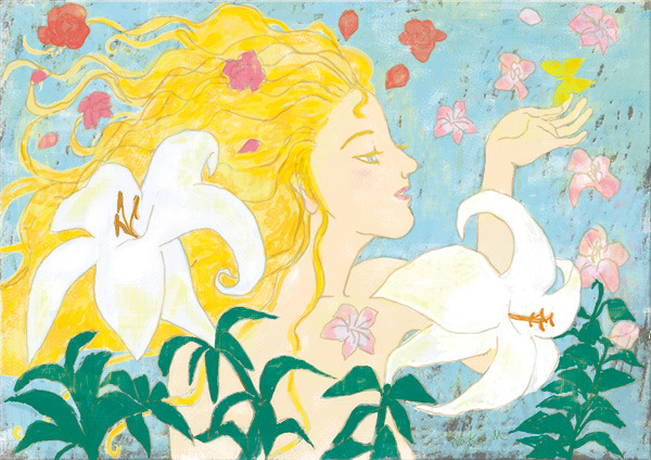 花咲かす女神フロラ よびかけ