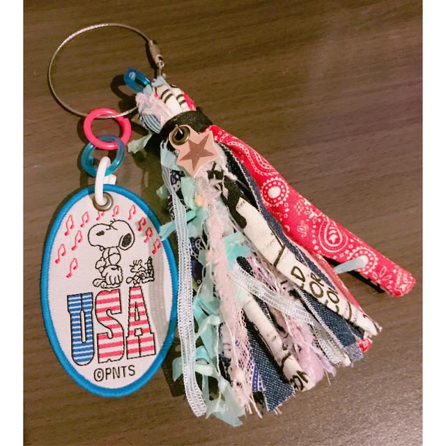 SNOOPYシリーズワッペンタッセル   【送...