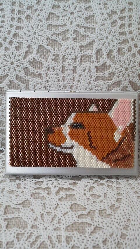カードケース(凛としたネコ)
