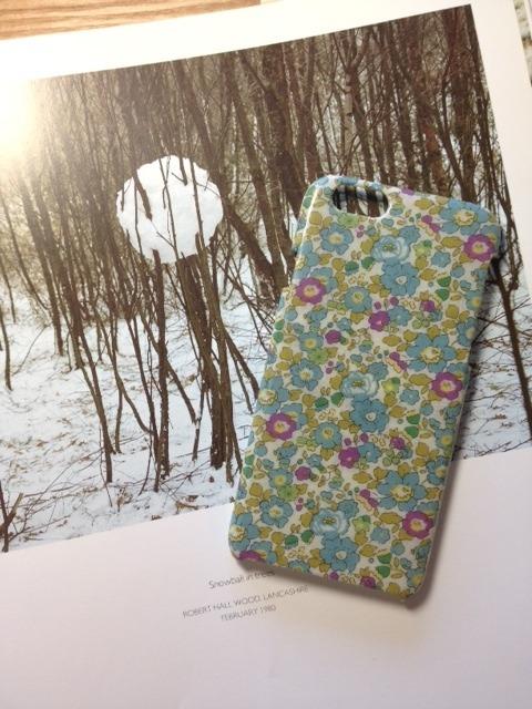 リバティ iphone6ケース(ベッツィアン ブルー)