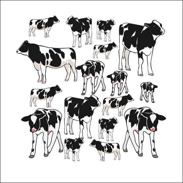 牛 イラスト Tシャツ ハンドメイドマーケット Minne