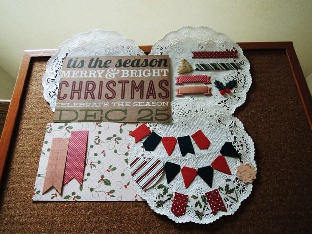 クリスマスカード作りに * アルバムのデコレーションに