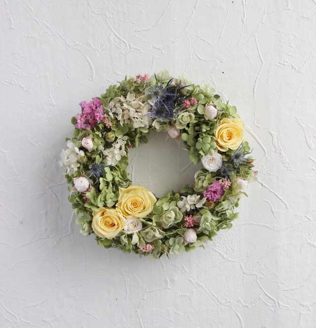 color scheme wreath