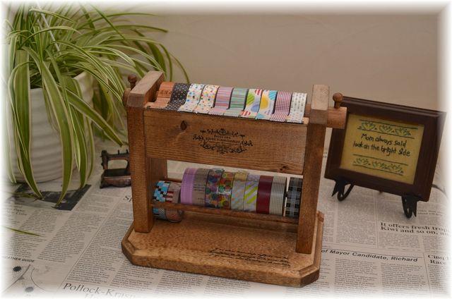 Sale 残り1個!【 5個限定再販 3000円 】マスキングテープカッター&ホルダー 2段