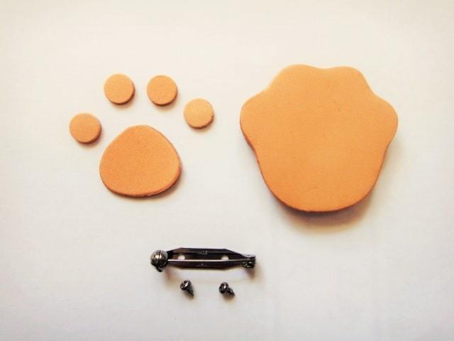 「にく球」 ブローチ製作体験キット