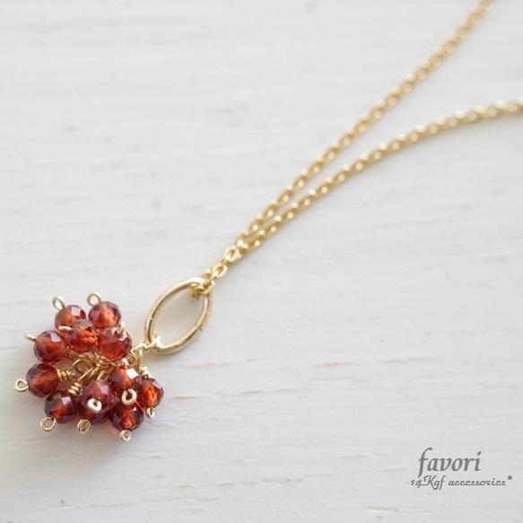 raspberry〜モザンビークガーネットネッ...