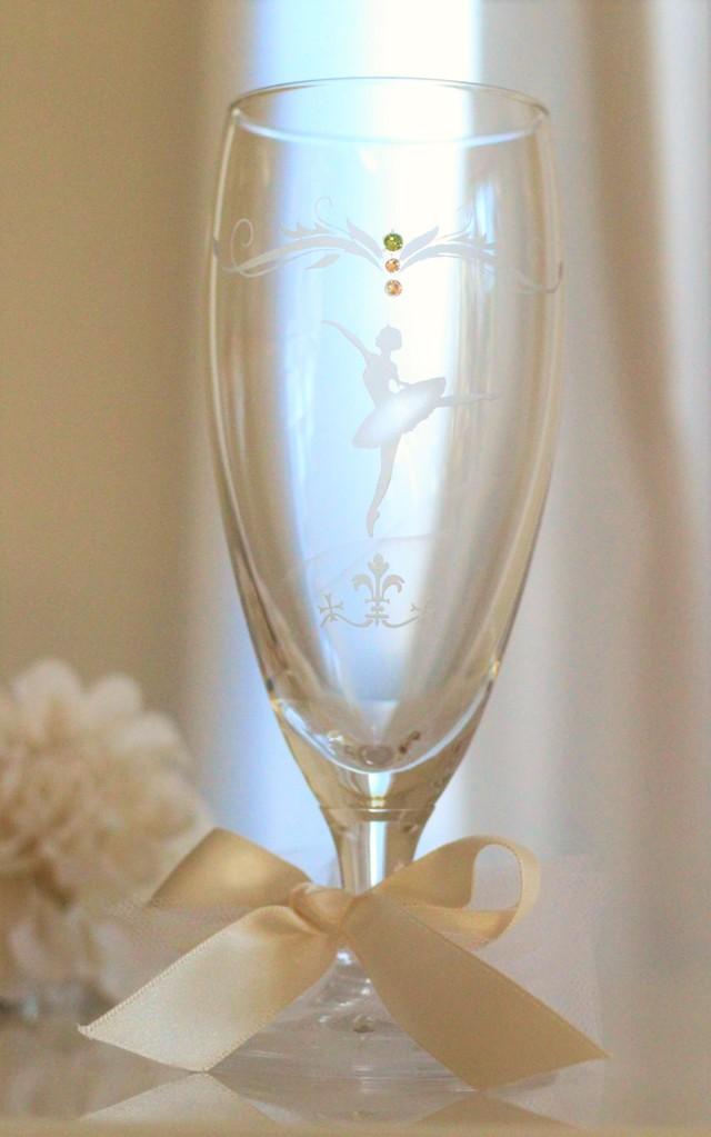 バレリーナのグラス【受注制作】