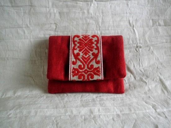 mini card pouch (チロルレッド)