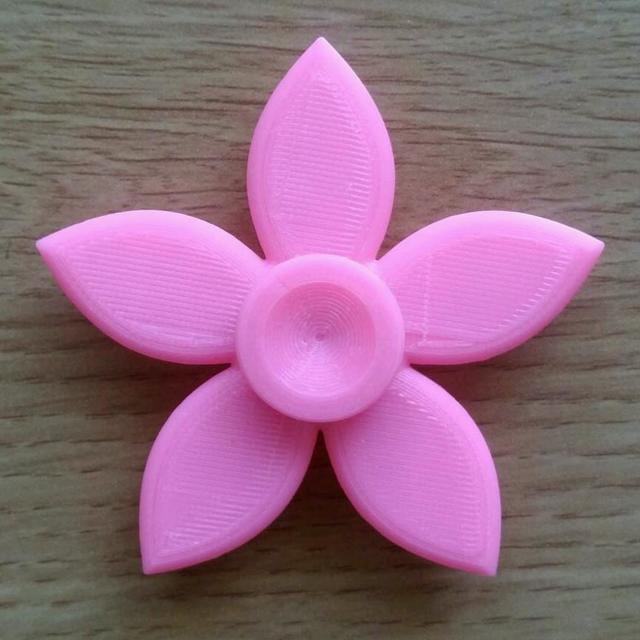 ハンドスピナー(花)