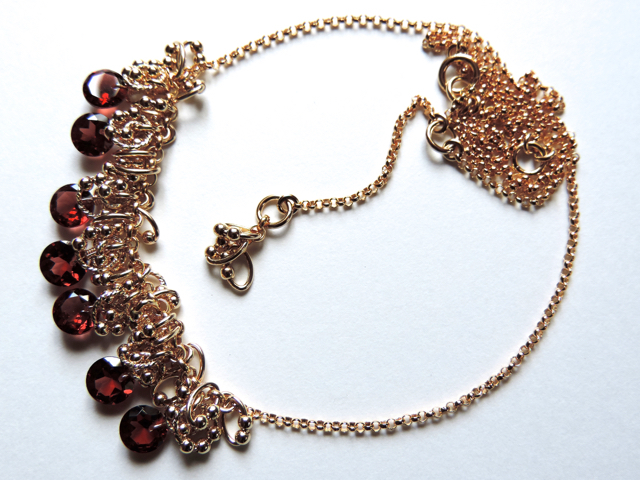 『 ROS ( red flower seed ) 』Necklace...