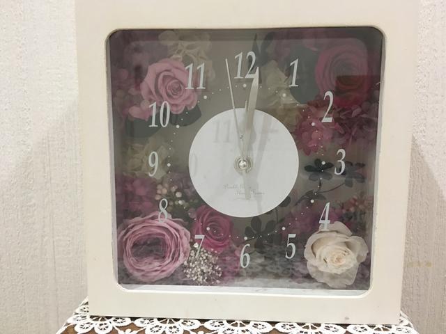『限定一個』秋色 大人可愛い花時計