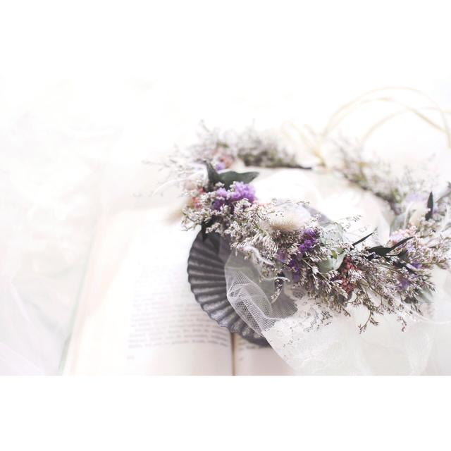 Flower crown #107 [ヘッドドレス×花...