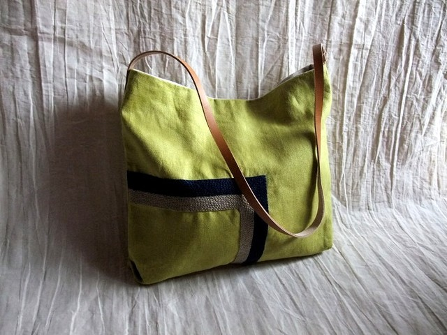 itoiro shoulder bag (kimidori-n/k)