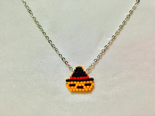 ハロウィンカボチャ ネックレス