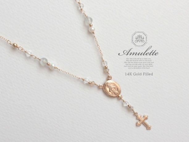 Amulette/moon 14KGF�ͥå��쥹