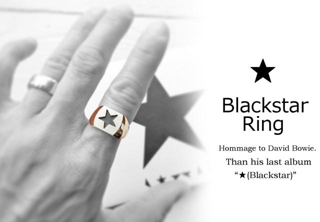 ★リング/Blackstar Ring【受注制作】
