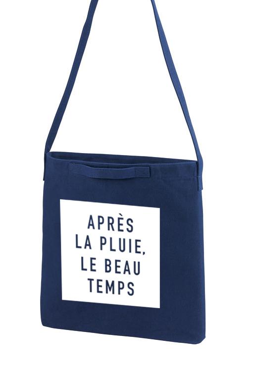 フランス語ロゴ Apres la pluie, le be...