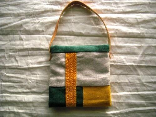 itoiro minimini pouch (kiiro)