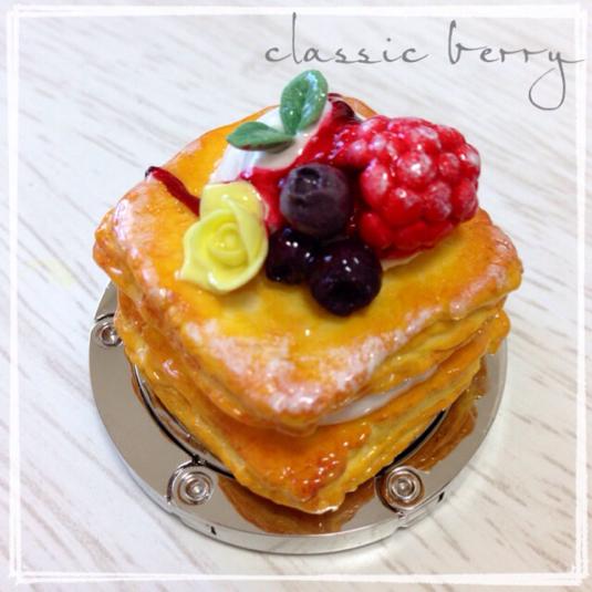 ☆オーダー品☆ケーキのバッグハンガー