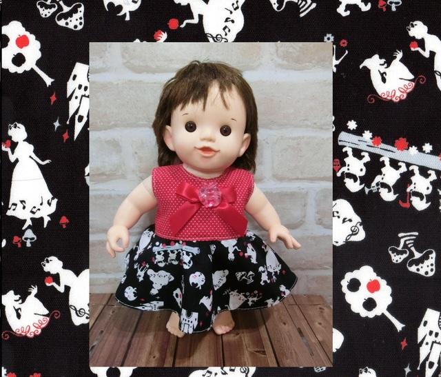 ぽぽちゃん 白雪姫なドレス。