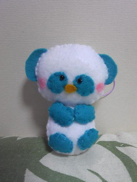 ブルー・パンダちゃん♪
