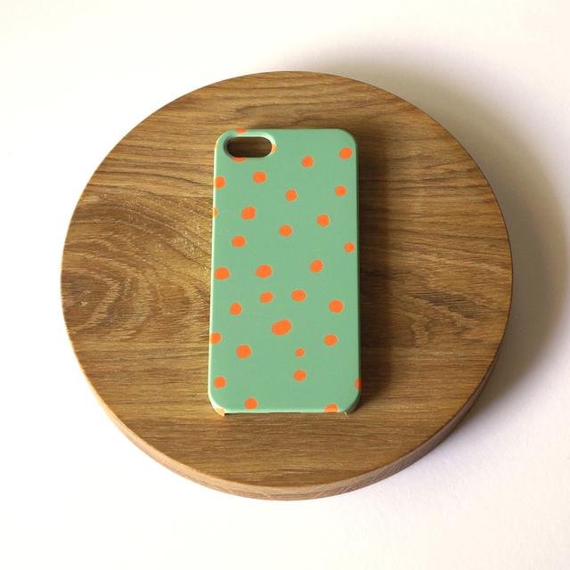 fuwa fuwa dot ( mos green & orange ) ...