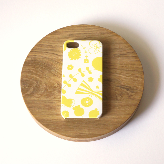 bliss ( yellow ) スマホケース - L サ...