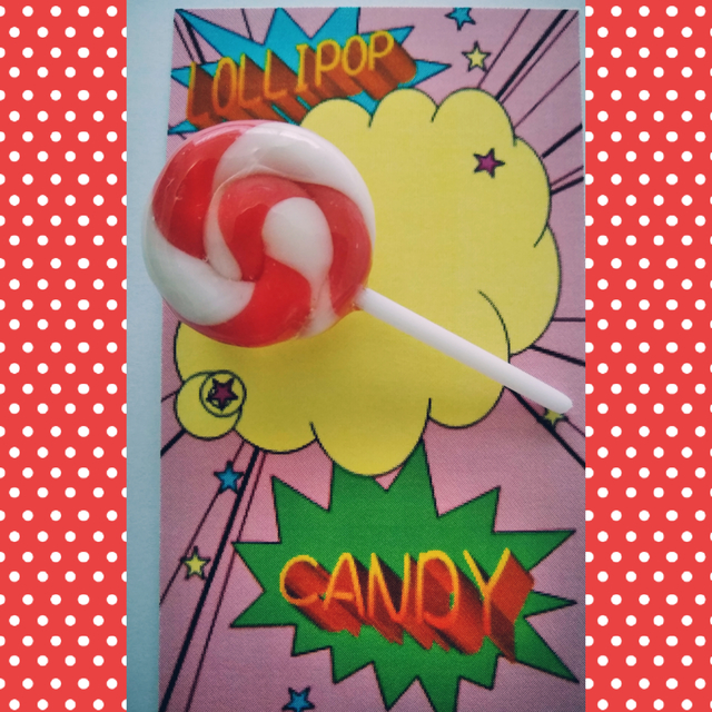 ロリポップキャンディのブローチ LOLLI...