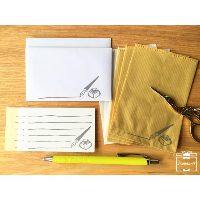 メッセージカードセット*インクペン