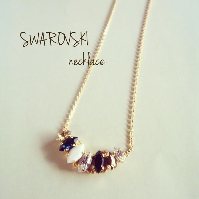 aiynam様order page◆SWAROVSKI necklace