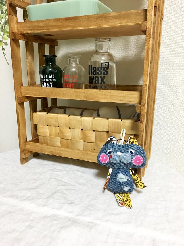 ネコやんバッグチャーム-14(しっぽ付き)