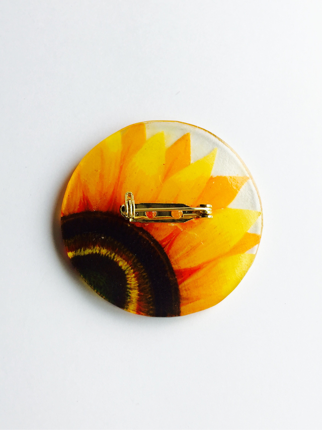 Only one broach《sunflower》
