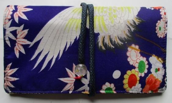 送料無料 鶴と花の描かれた女の子の着...