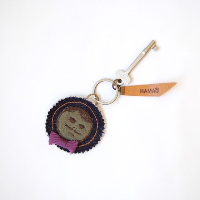 japan vintage key holder (indigo deni...