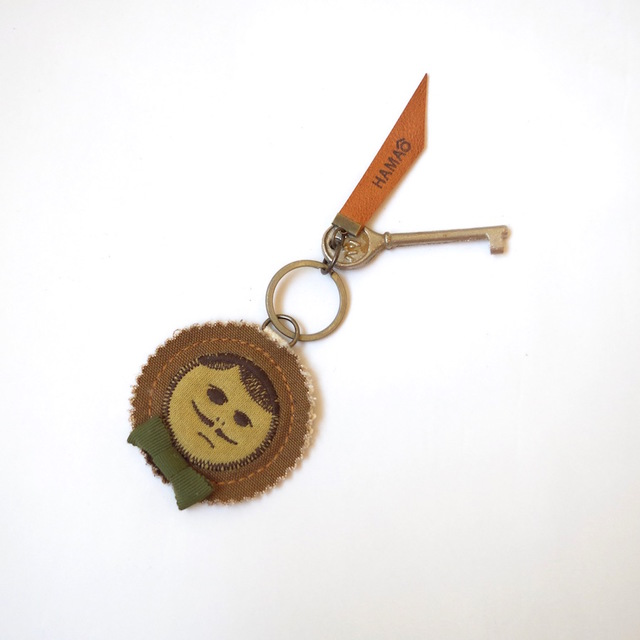 japan vintage key holder (camel canva...