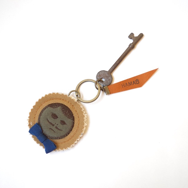 japan vintage key holder (beige canva...