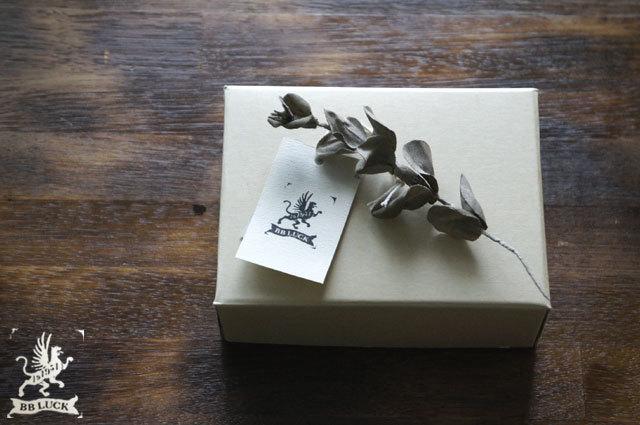 brooch【 布花ブローチ eucalyptus * k...