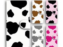 牛柄 キュート 可愛い 手帳型 全機種 送料無料 iPhone8