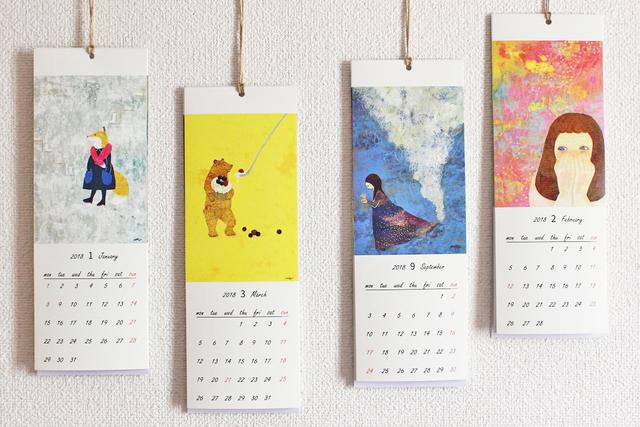 kuriko2018カレンダー