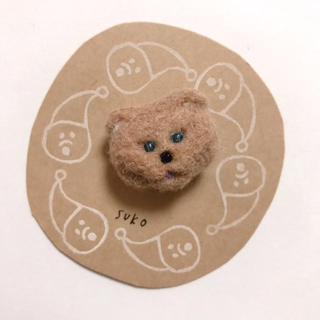 羊毛ブローチ・suko