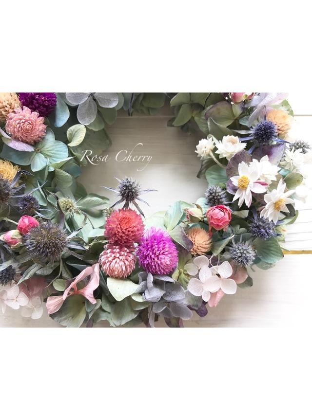 紫陽花とまる〜いお花たち