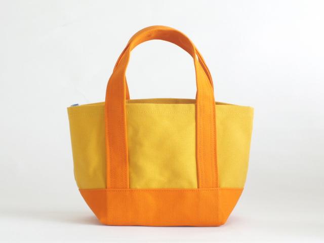 daisyhill トートバッグ Sサイズ やまぶき×オレンジ
