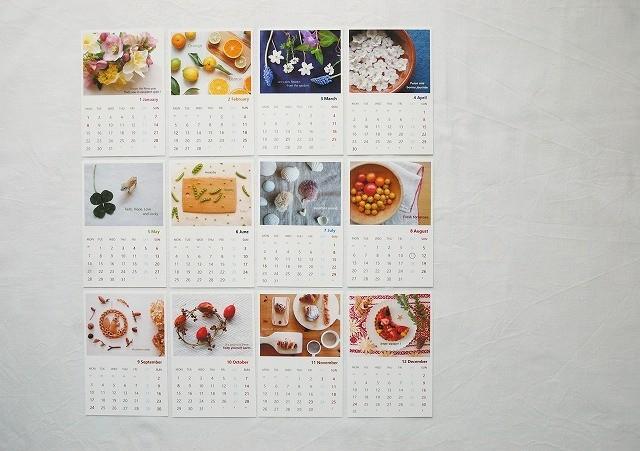 2018年 オリジナルナチュラルカレンダー...