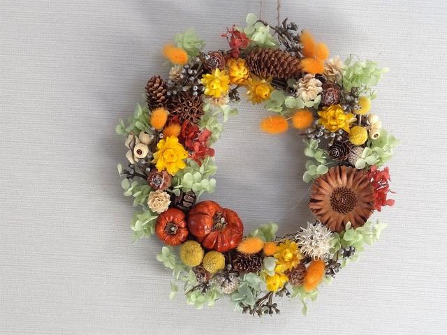 収穫祭 リース