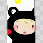 スマホケース『ちびくま』iPhone / Xperia / Galaxy / AQUOS /  Disney Mobile / ARROWS / Ascend /  ZenFone / DIGNO