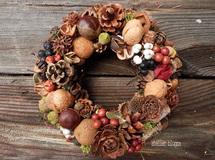 atelier blugra八ヶ岳〜(新作)静かな森の木の実Wreath02