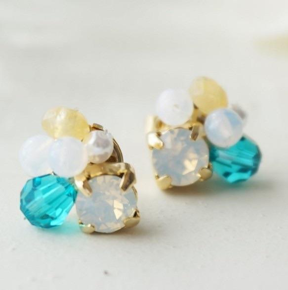 海の宝石達ピアス